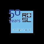 RSL Ireland 50 years logo